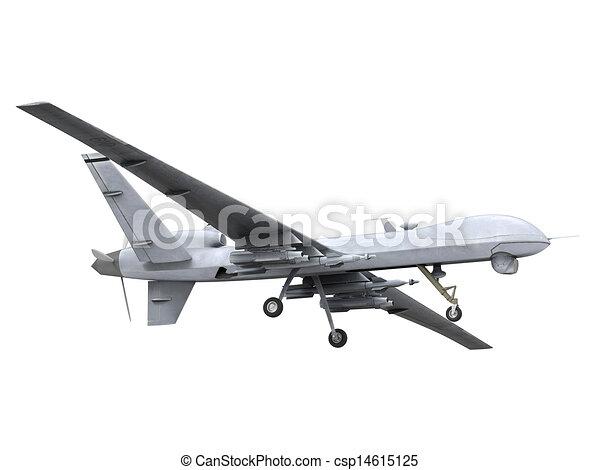 Military Predator Drone - csp14615125