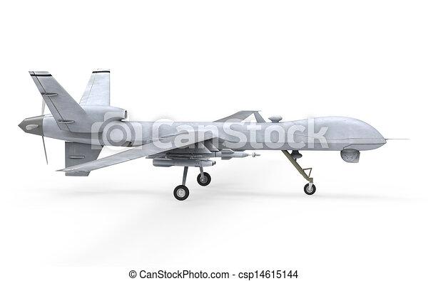 Military Predator Drone - csp14615144