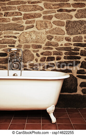 Stock beelden van ouderwetse badkamer ligbad clawfoot oldfashioned csp14622255 zoek - Ouderwetse badkamer ...