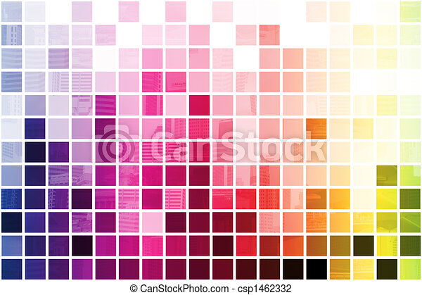 Colorful Simplistic and Minimalist Abstract - csp1462332