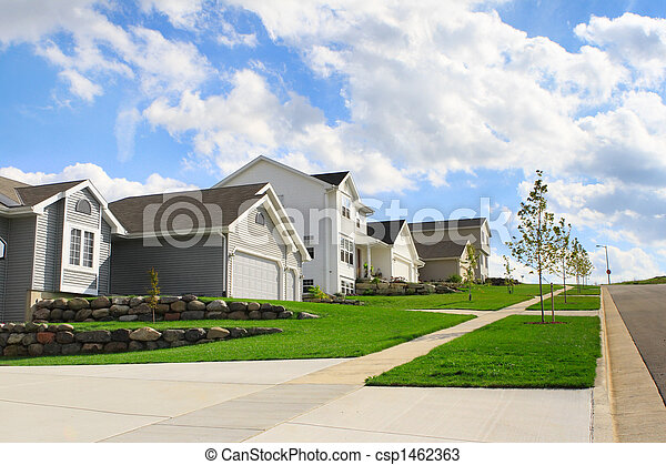 Residential Neighborhood - csp1462363