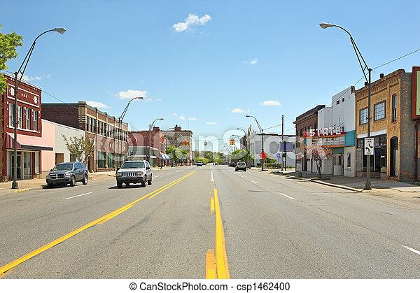 Downtown Benton Harbor Michigan - csp1462400