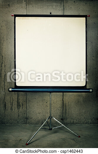 Movie Projector Screen - csp1462443
