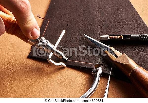 Leather crafting tools - csp14629684