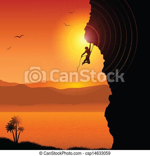 Rock climber Clipart and Stock Illustrations. 5,711 Rock climber ...