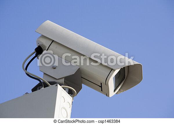 sicurezza, macchina fotografica - csp1463384
