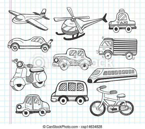 set of transport icons - csp14634828