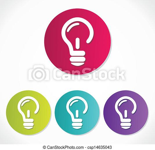 灯泡, 图标csp14635043的eps矢量格式文件