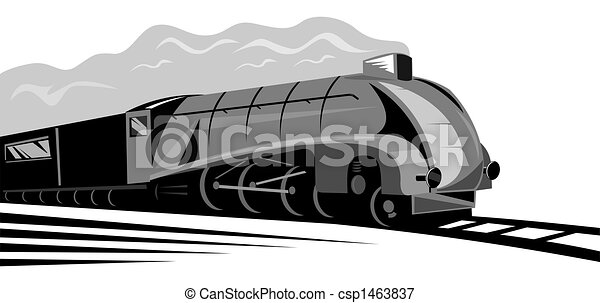 Steam locomotive - csp1463837