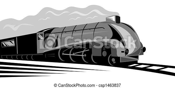 Steam locomotive - csp1463837