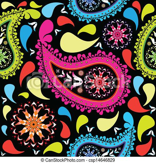paisley pattern - csp14646829