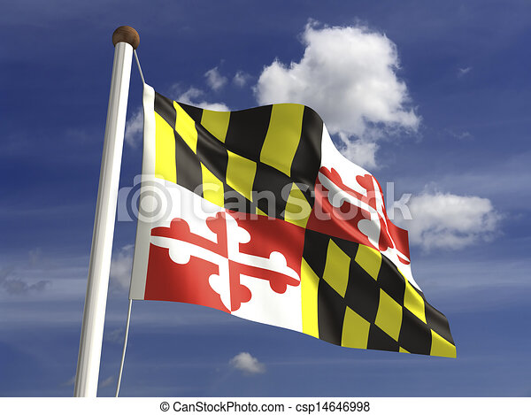 Maryland Flag - csp14646998