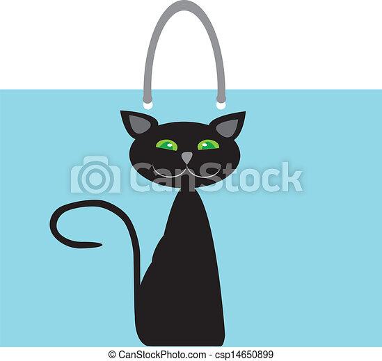 Bag cat  - csp14650899