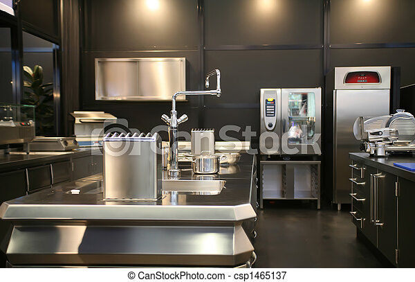 new industrial kitchen - csp1465137