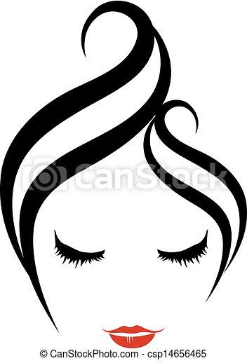 Hairstyle logo - csp14656465