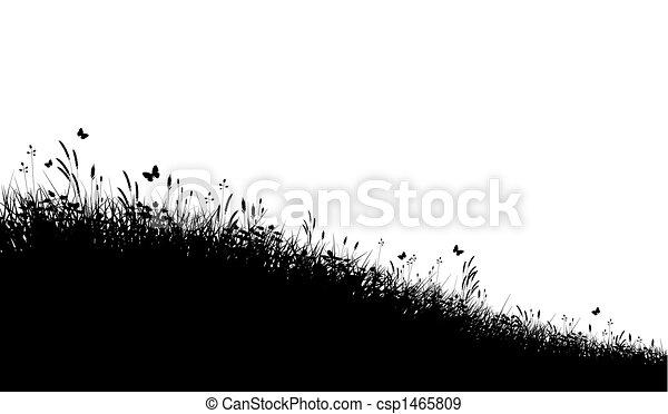 Meadow grass - csp1465809