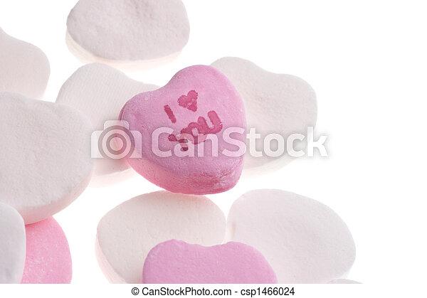 valentine\\\'s, jour, bonbon - csp1466024
