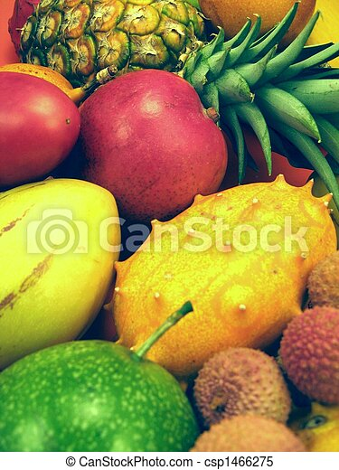 Tropical fruits and vegetables - csp1466275