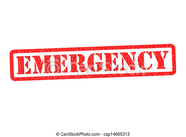 EMERGENCY - csp14665313