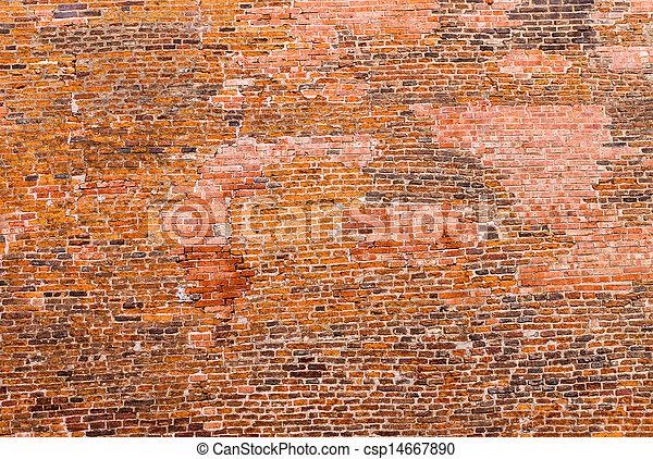 Old historic brickwall - csp14667890