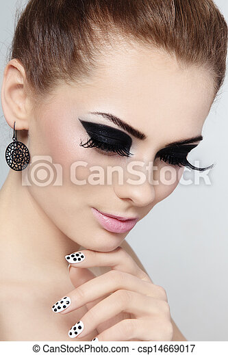Make-up and manicure