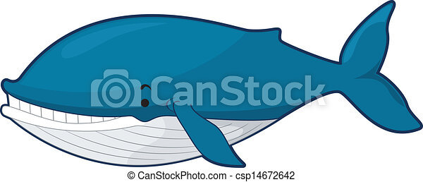 Whale - Illustration of a Blue Whale csp14672642 - Search Clip Art ...