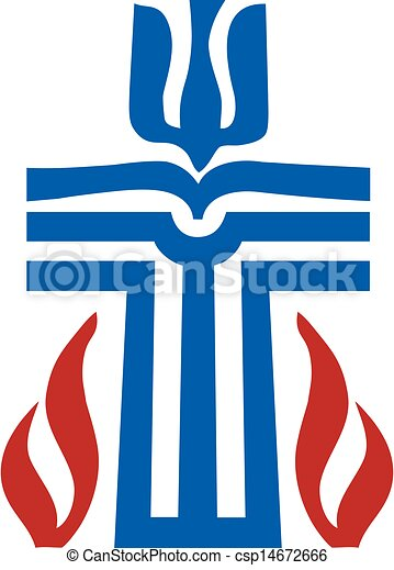 Symbol of Presbyterian religion - csp14672666