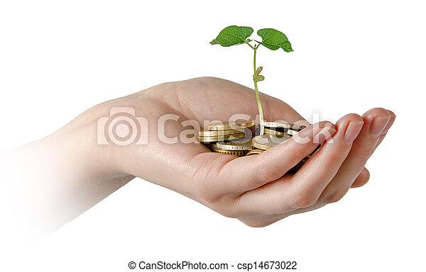 investieren, landwirtschaft - csp14673022