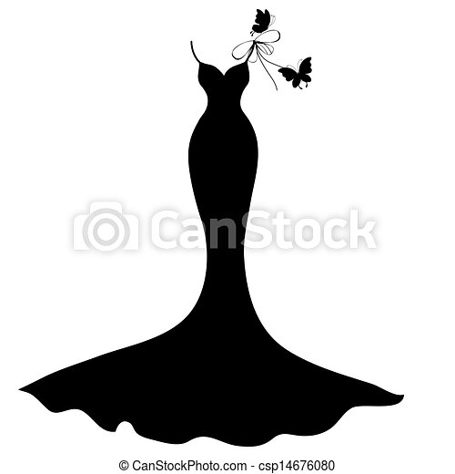 wedding dress - csp14676080