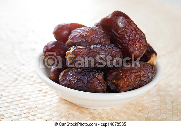 Kurma dates fruit - csp14678585