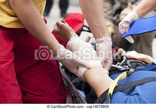 first aid training - csp14678809