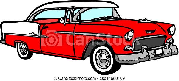Vintage Car Clip Art Vector Graphics Vintage Car Eps