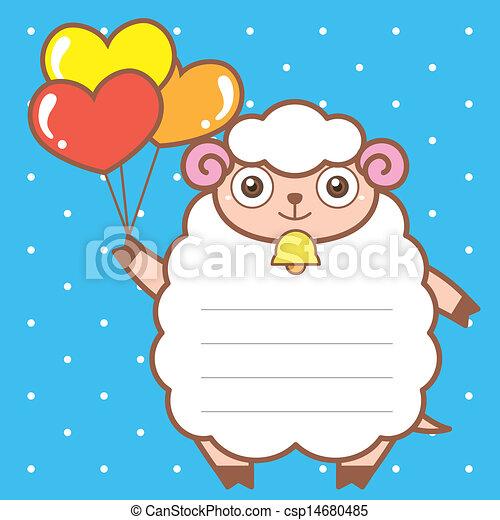 Sheep Vector Vector Cute Sheep of