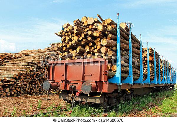 image de transport bois train rail voitures entiers bois csp14680670 recherchez des. Black Bedroom Furniture Sets. Home Design Ideas