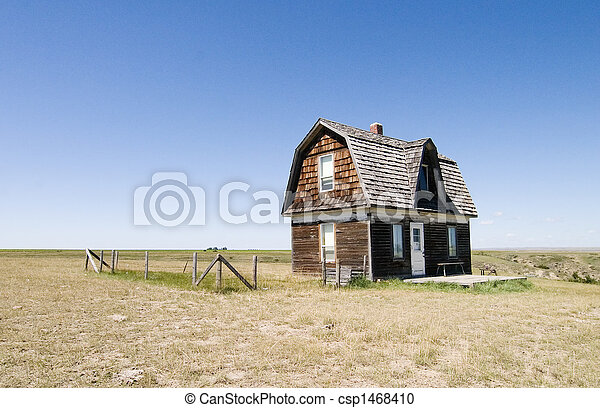 Prairie Homestead - csp1468410
