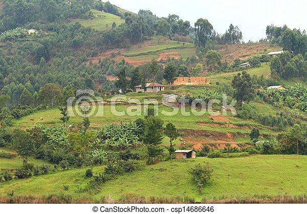 Rural Uganda - csp14686646