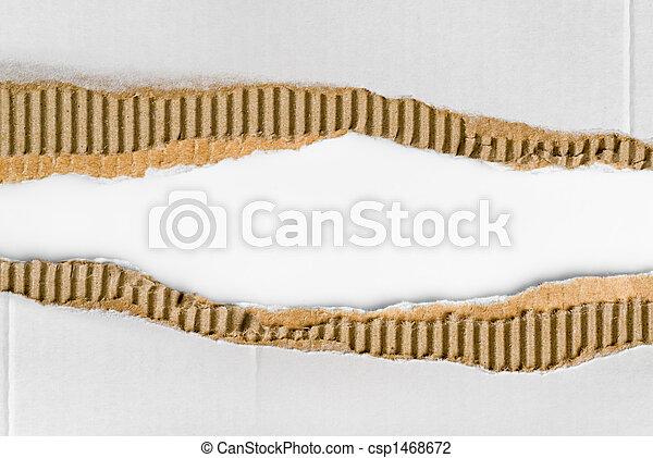 corrugated cardboard - csp1468672