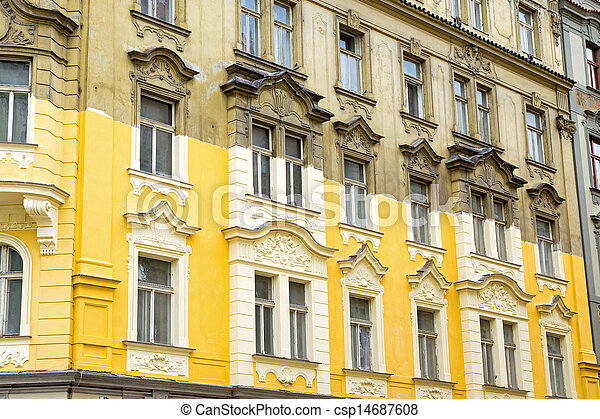 Unterminated house restoration  - csp14687608