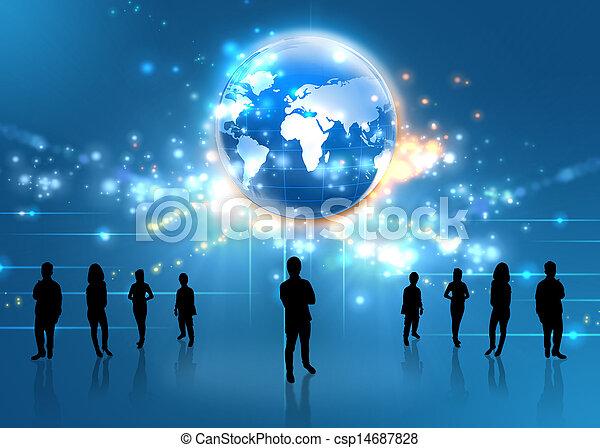 equipe affaires - csp14687828