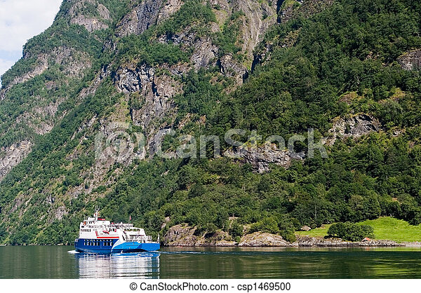 Sognefjord Norway - csp1469500