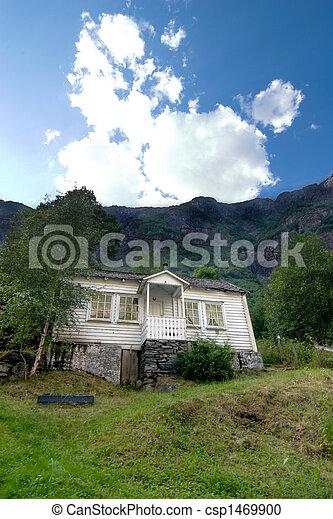 hus, mountin - csp1469900