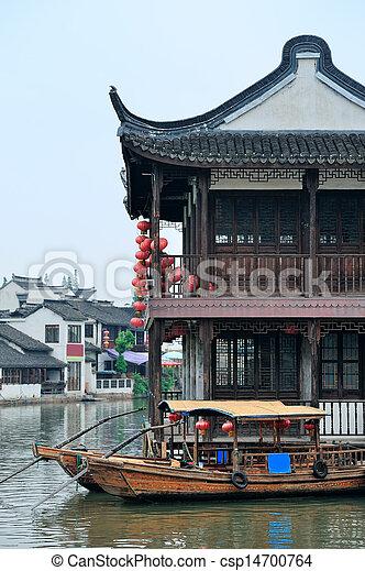 Shanghai rural village - csp14700764