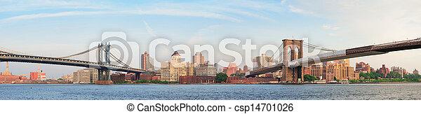 New York City Bridges - csp14701026