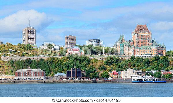 Quebec City skyline - csp14701195
