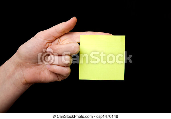 Sticky Note - csp1470148