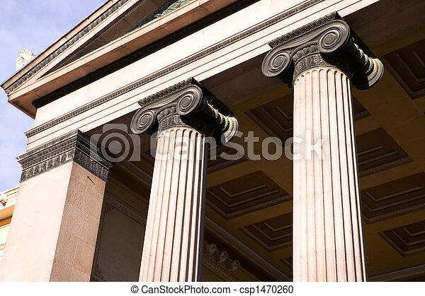 Greek Ionic Column - csp1470260