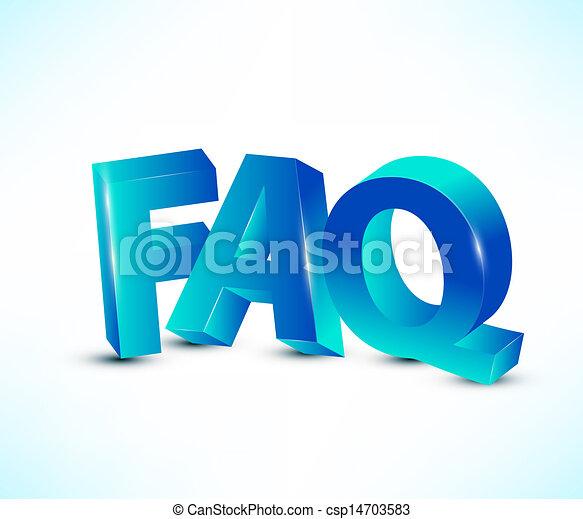 FAQ letters - csp14703583