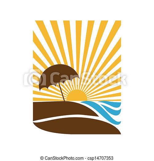 summer vacations  - csp14707353