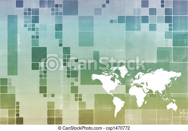 World wide Business Communications - csp1470772