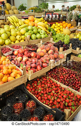 Fruits on the market - csp14710490